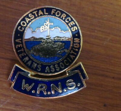 Royal Navy - Wrns - Coastal Forces Association Badge - Very Rare • 20£