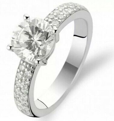 £28 • Buy Ti Sento Sterling Silver Whith Cubic Zirconia
