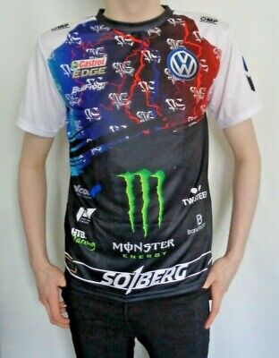 Mens T Shirt Petter Solberg WRC Team Official Clothing • 15.99£