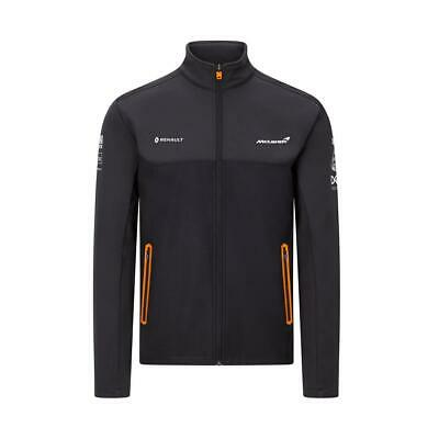 NEW 2020 McLaren F1 Team Softshell Jacket Grey MENS Lando Norris Carlos Sainz • 87.45£