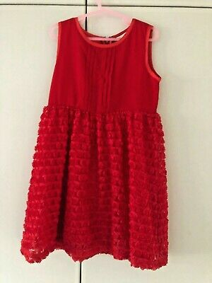 Girls Beautiful Yumi Dress Age 5-6 Years In Very Good Condition - Worn Once • 8.49£