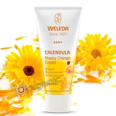 £6.95 • Buy Weleda Organic Calendula Baby Nappy Change Cream 30ml For Delicate Baby Skin