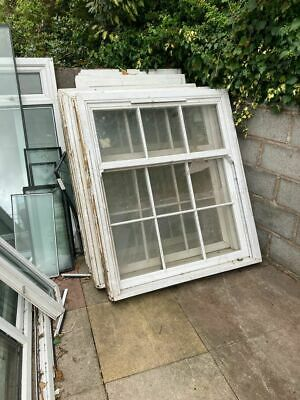£100 • Buy Upvc Window With Georgian Bars Frosted Glass And Frosted 124 Cm W X 143 Cm H