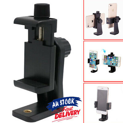 AU9.55 • Buy Cell Phone Holder Mount Smartphone Tripod Adapter Universal Camera