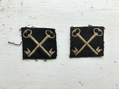 £10.95 • Buy Pair Of 2nd Infantry Division British Army Formation Cloth Patches