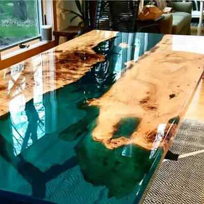 £2000 • Buy HANDMADE Solid Wood Epoxy Table, Dining/Coffe Table,River Table, Epoxy Table
