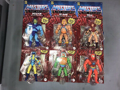 $115 • Buy 💥Masters Of The Universe💥 6 Figure Set MOTU Retro Play WAVE 1 Lot (IN HAND)