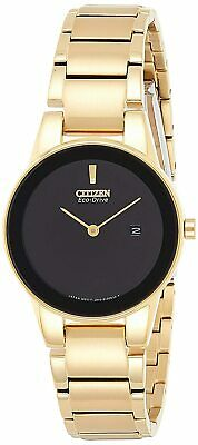 Citizen EcoDrive  Axiom  GA1052-55E Ladies 30M Watch Gold Plated Steel UK Seller • 159.95£
