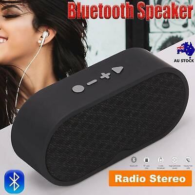 AU16.99 • Buy Rechargeable Wireless Bluetooth Speaker Portable Outdoor USB/TF/FM Radio Stereo*