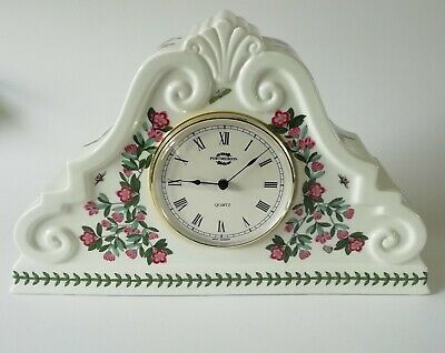 Portmeirion Botanic Garden Mantel Clock - Working • 80£