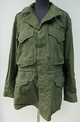 $241.61 • Buy Vintage M43 NATO US Olive Green Army Jacket 42-44  Chest