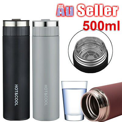 AU19.59 • Buy Thermos  Cup Tea Bottle  Stainless Steel  Vacuum    Insulated  Water Mug