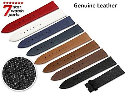 $ CDN11.38 • Buy For SEIKO Watch Saffiano Leather Flat Strap Band Buckle Clasp Diver Grand
