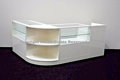 Shop Counters Set Of 4 Units Retail Counter Register Stand Kiosk Shop Fitting • 650£