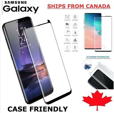 $ CDN5.99 • Buy For Samsung Galaxy S10 S9 S8 S20 FE Plus Ultra Tempered Glass Screen Protector