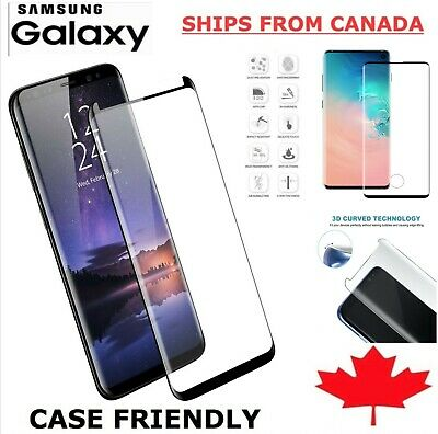 $ CDN9.59 • Buy For Samsung Galaxy S10 S9 S8 S20 FE S21 Plus Tempered Glass Screen Protector