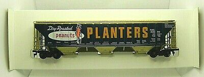 $ CDN40 • Buy TYCO HO Scale Electric Train Covered Hopper Car Planters Peanuts #3590 NEW BOX