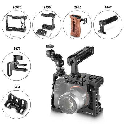 $ CDN101.53 • Buy SmallRig Camera Cage Kit/Side Top Handle/Cable Clamp For Sony A7RIII/A7III