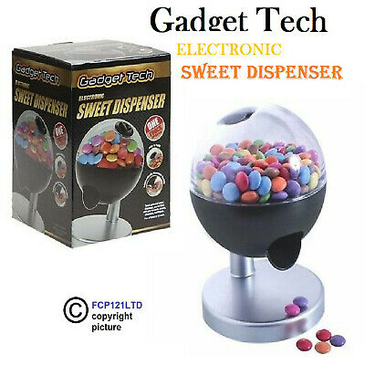 Electronic Touch Activated Sweet Candy Dispenser Vintage Candy Gumball Machine • 11.10£