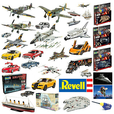 Revell Model Kits Space Cars Boats Aeroplanes Buildings Arts & Crafts Hobbies • 24.36£