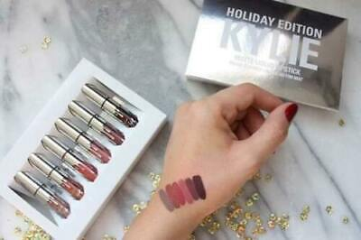 AU20 • Buy Kylie Jenner Holiday Edition 6 Piece Lipstick Set In Retail Package