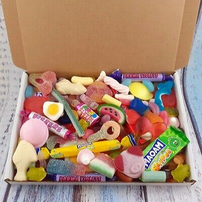£5.79 • Buy Pick And Mix Sweets Box, Classic Pick N Mix Sweets, Haribo, Maoam, Birthday Gift
