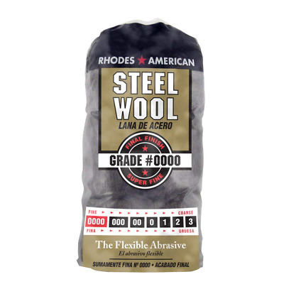 $13.57 • Buy Steel Wool Cleaning Pad Super Fine Grade #0000 Rhodes American Final Finish 12ct