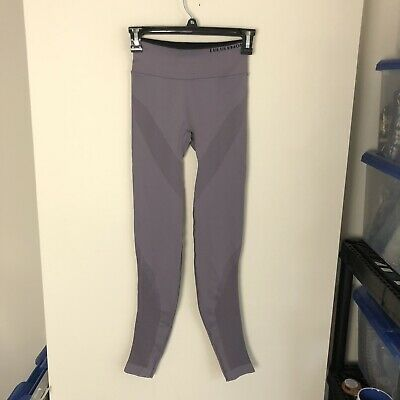 $ CDN76.75 • Buy Lululemon Womens Size 2 Purple Iconic Sweat Tight Compression Leggings High Rise