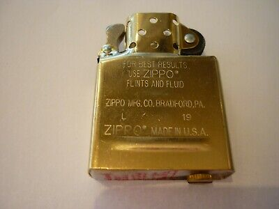 AU31.16 • Buy Zippo Lighter Insert Regular Brass Sp200ubr - Made In Usa / Brand New Au Stock !