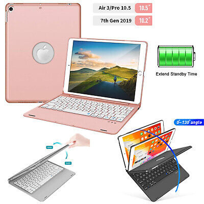 AU44.99 • Buy For 10.2  2020 Ipad 7th 8th Pro 10.5  Air 3 Bluetooth Keyboard Folio Hard Case