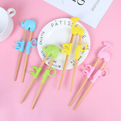 £3.51 • Buy 1 Pair Learning Training Chopsticks For Kids Chinese Chopstick Learner GHFUK