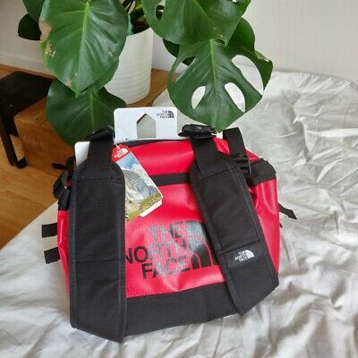 The North Face Base Camp Duffle Bag Small S Size 50L Red Holiday Travel • 73£