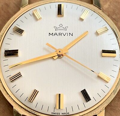 £230 • Buy Vintage Men's 1960's *MARVIN* Hacking Function  Movement! *Remarkable Condition*