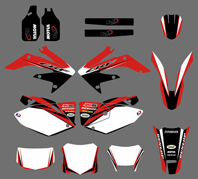 $54.99 • Buy Team Graphics Decals Kit For Honda CRF250X CRF 250X 2004 05 06 07 08 09 10 11 12