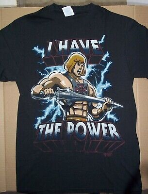 $11.99 • Buy He-Man Masters Of The Universe Adult Small Unisex T-Shirt - NOS