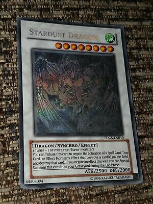 Yugioh Stardust Dragon Ghost Tdgs-en040 Played Condition. • 55.90£