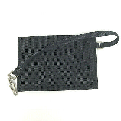 Authentic Prada Vintage Nylon Padded Purse Wallet Cardholder In Black • 25£
