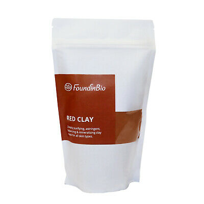Natural Red Kaolin Clay Powder Organic For Face Mask Body And Hair Anti Wrinkles • 2.99£