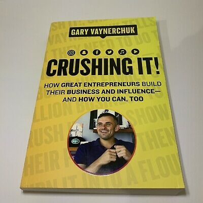 AU29.90 • Buy Crushing It!: How Great Entrepreneurs Build Business And Influence - AndHow You