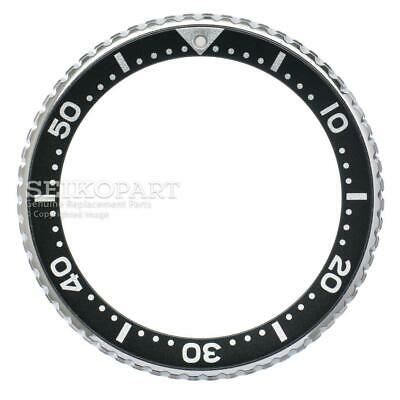 $ CDN96.53 • Buy Seiko Black Rotating Stainless Steel Bezel SKX173 SKXA35 SKXA53 SKXA55 7S26-0028