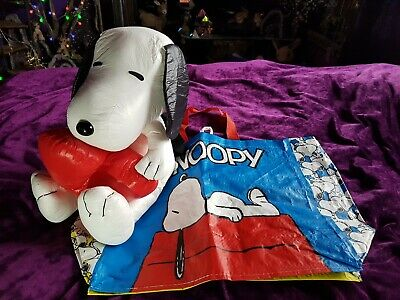 Snoopy Backpack With Snoopy Shopping Bag. • 17.99£