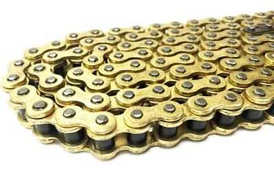 AU36.03 • Buy Heavy Duty Non O Ring Gold Chain 428 138 Links For Hyosung GT125  2003 To 2015