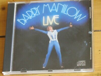 BARRY MANILOW Live CD (1977) • 23.50£