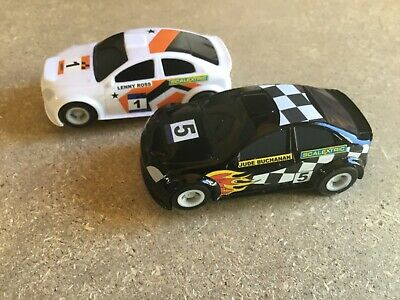 Micro Scalextric  1:64   2 X Rally Cars • 14.75£