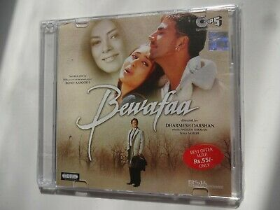 BEWAFAA ~ Bollywood Soundtrack Hindi CD ~ Nadeem Shravan ~ 2004 ~ New • 2.45£
