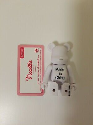 $19.50 • Buy Medicom Bearbrick Be@rbrick 100% Series 37 Artist Noodle Made In China Art Toy