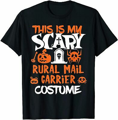 $14.99 • Buy Rural Mail Carrier Scary Halloween Costume Party T-Shirt Size S-5XL