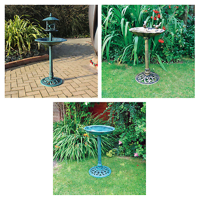 Resin Bird Bath / Feeders - Choices - Weather Resistant Garden Features • 14.77£