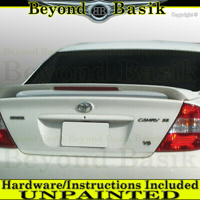 $56.43 • Buy For 2002 03 04 05 2006 Toyota Camry Factory Style Spoiler Wing W/LED UNPAINTED