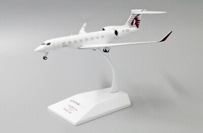 AU141.85 • Buy Jc Wings Ew2g65002 1/200 Qatar Airways Gulfstream G-650 Reg: A7-cgc With Stand